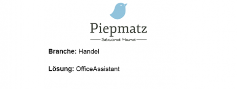 Piepmatz Second Hand