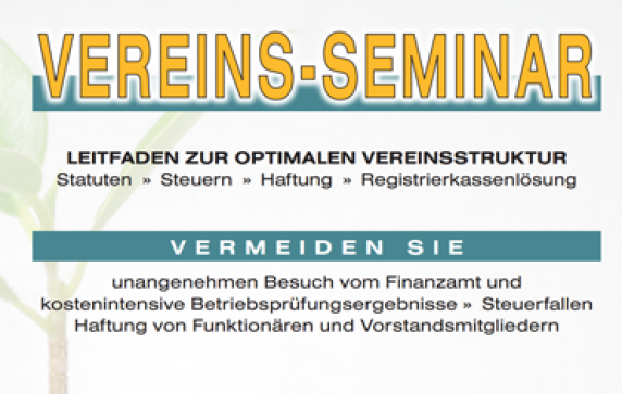 Vereins-Seminar in Bad Häring